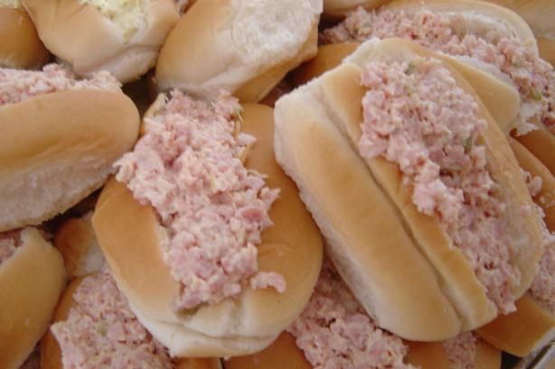Linda's Ham Salad Sandwich (Sandwiches) or Finger Rolls