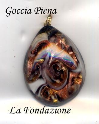 Murano Glass pendant www.maestrovetrodimurano.com