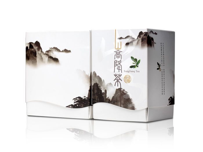 Packaging of the World: Creative Package Design Archive and Gallery: Forest Treasure SongJianq Tea