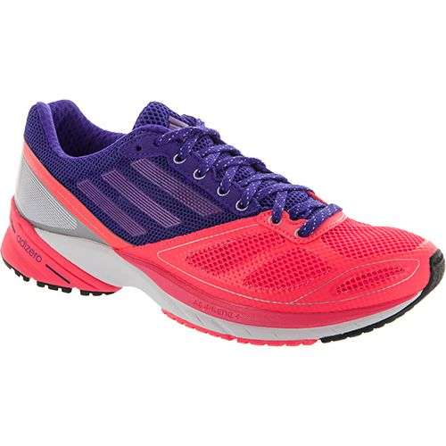 best service 42270 a4b4b Adidas Adizero Tempo 6 Adidas Womens Running Shoes Red Zestblast Purple  Metallic  Oozz  Workout gear, Fitness, Track