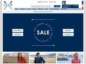 Crew Clothing - 5% off £50 Spend All the latest free Crew Clothing voucher codes, discount codes, discount vouchers. Valid free January 2014 voucher codes for Crew Clothing