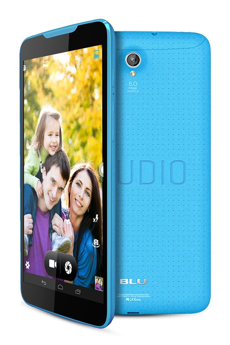 BLU Studio Unlocked 4G 7.0 inches Android 4.4 (Kit Kat) 8GB 5MP rear camera 2MP front Camera 4G HSPA+ up to 21Mbps Smartphone in Blue with 45% discount. Buy now online froma Amazon USA at $141.95 with FREE Shipping