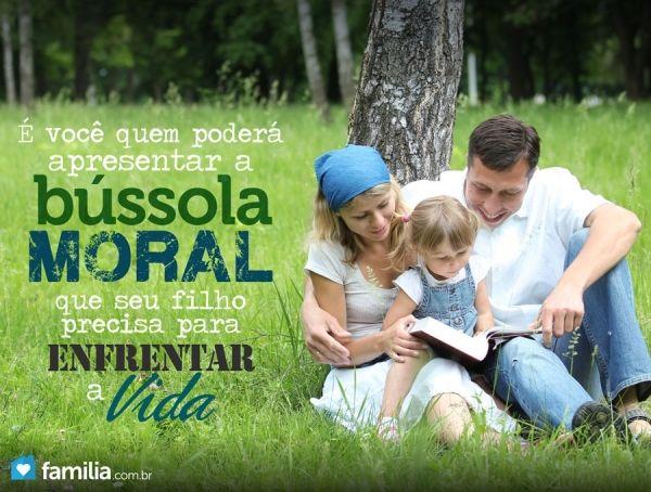 Bússola moral: Ensinando os filhos sobre manter a moralidade