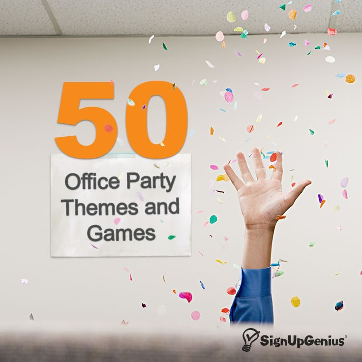 Help your team love where they work. Check out these 50 office party themes, tips and games.