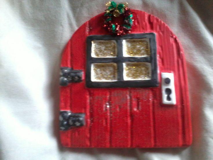 christmas fairy door, £12