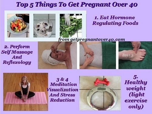 You Can Get Pregnant Over 40 Naturally Official Site Of