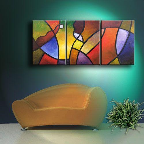 Custom artwork original abstract modern oil por SallyTraceFineArt