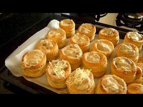 Vols au Vent Poulet Champignons - un délice en entrée ou en plat principal avec une salade. -.. idéal pour garnir les tables de Ramadan.