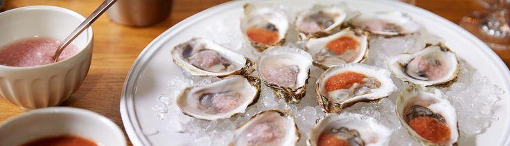 Mignonettes pour les huîtres par Josée di Stasio - di Stasio - Téléquébec