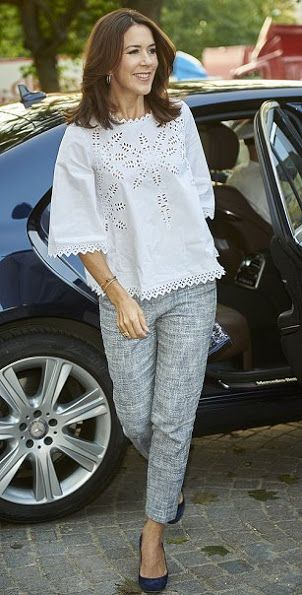 Crown Princess Mary attended a charity event in Bellahøj
