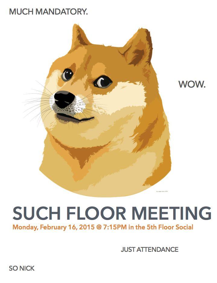 doge mandatory floor meeting sign                                                                                                                                                                                 More