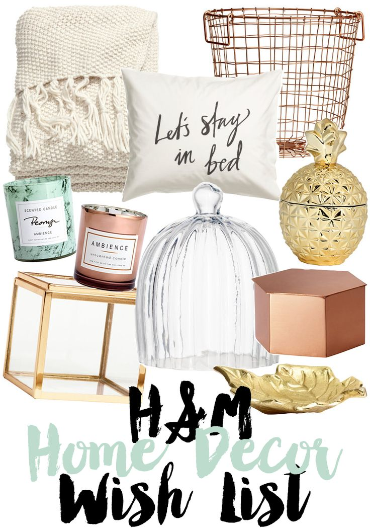 H&M Home Decor Wish List   A Girl, Obsessed