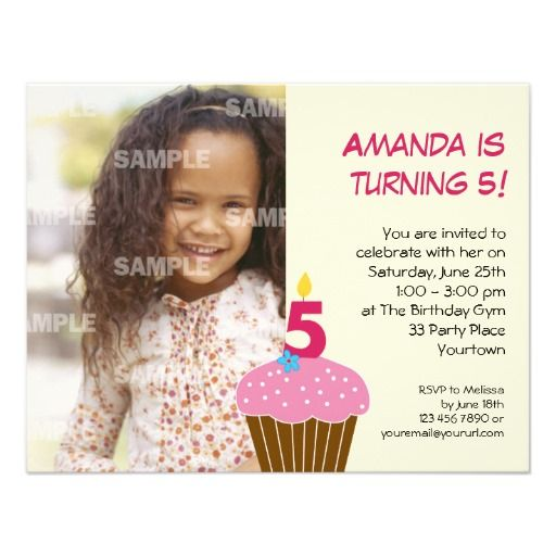 391 best 5th Birthday Party Invitations images – 5 Year Old Birthday Invitation Wording