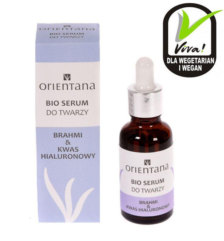 Orientana Bio serum do twarzy Brahmi & Kwas hialuronowy  | eBay