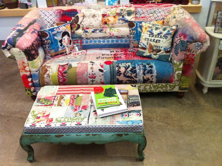 Patchwork couch furniture pinterest couch and patchwork for Patchwork couch