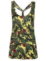 Pineapple Print Vest £6