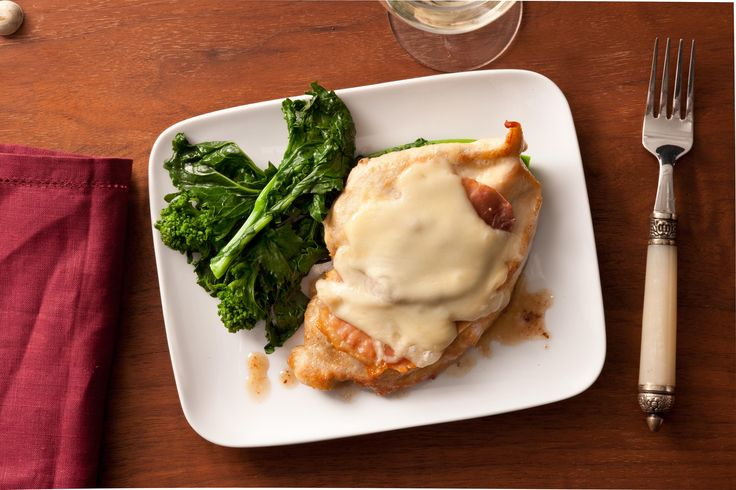 This recipe for boneless, skinless chicken breasts has fontina cheese and prosciutto in a wine sauce for a fast and easy weeknight dinner.