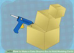 Image titled Make a Cake Shaped Box to Hold Wedding Cards Step 10
