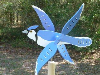 Blue Jay Whirligig