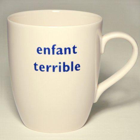 enfant terrible mug
