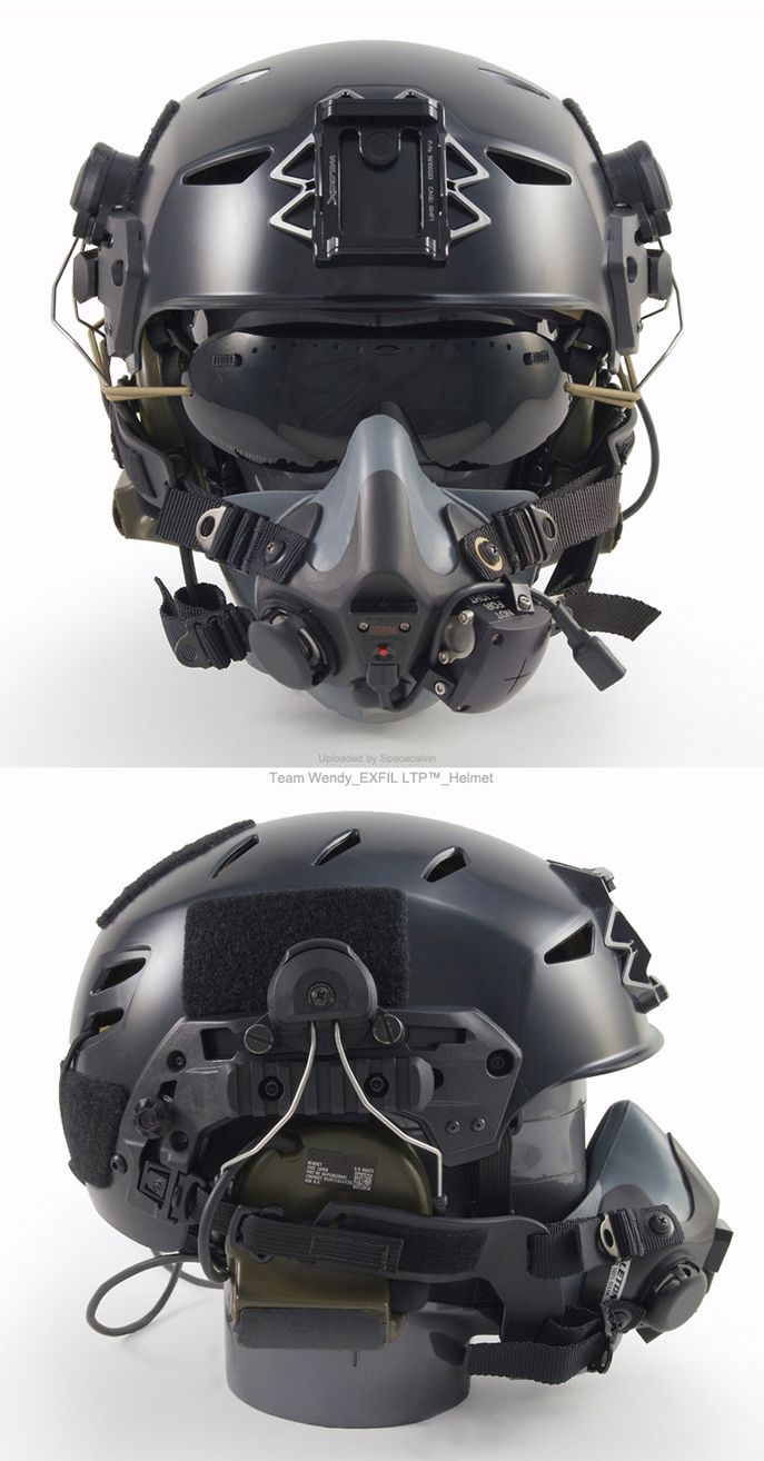 Team Wendy_EXFIL LTP™_Helmet  The EXFIL LTP is designed for: Operators across the military, including combat search and rescue (CSAR) teams Various airborne, heliborne and maritime operations such as visit, board, search and seizure (VBSS) Training exercises in which low equipment weight and high functionality are priorities.