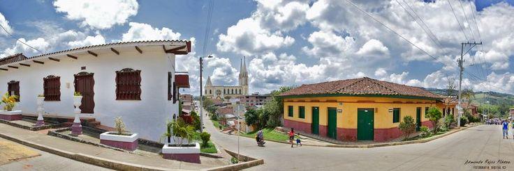 Es una población Colombiana ubicada en la cordillera occidental, en el centro del departamento del Valle del Cauca