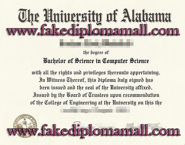 the university of alabama bachelor of science degree