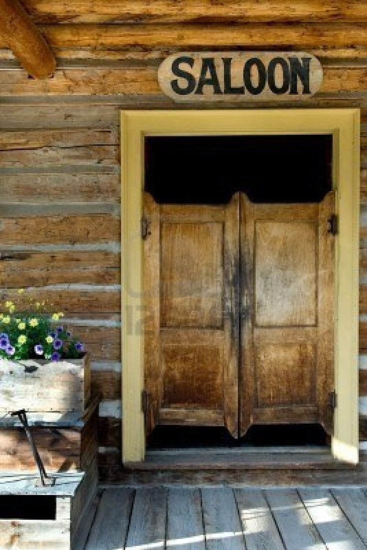 Authentic saloon doors of old western building in montana ghost wild west town pinterest for Western building products exterior doors