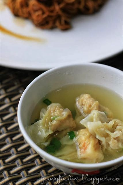Eat Your Heart Out: Recipe: Homemade Pork and Prawn Wantans in Soup