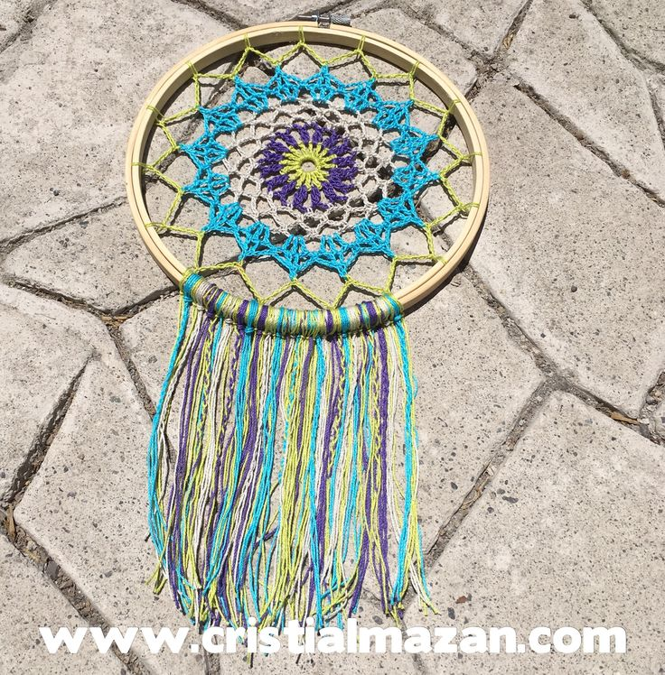 Mandala a crochet Inicio de talleres 21 de enero de 2017!