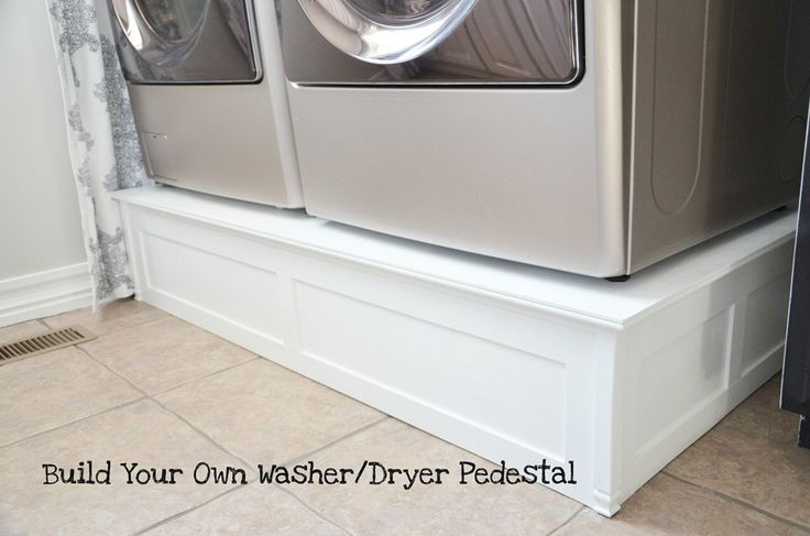 1000 Images About Front Load Washer Pedestal Ideas On