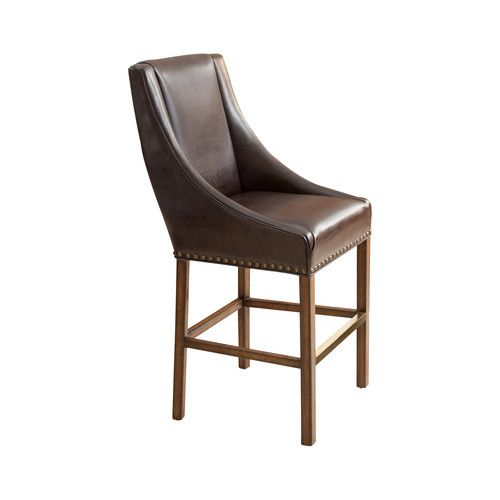 "Found it at AllModern - Jen 27"" Bar Stool with Cushion"