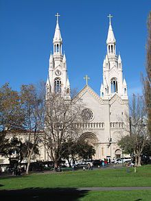 Saints Peter and Paul Church - where Marilyn Monroe and Joe DiMaggio got married