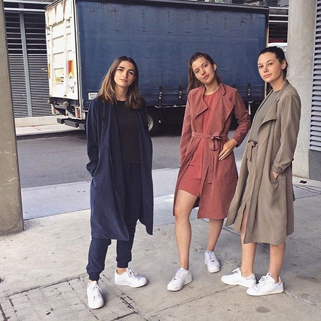 @americanapparelau AA girls in colour blocking spring styles #americanapparel…