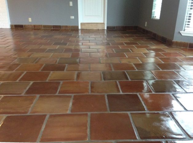 25 best manganese saltillo tile images on pinterest for Spanish clay tile