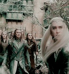 jaynaemariemiller:  Guess who just got unleashed. Thranduil. And I meant to do it. And I will do it again. Later.