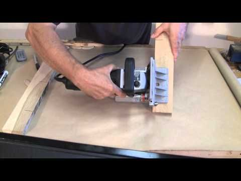 Using the Biscuit Jointer - A woodworkweb.com woodworking video