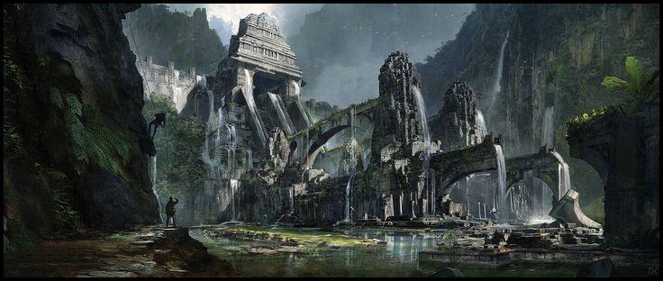 ArtStation - Atlantis Entrance, Darius Kalinauskas