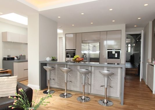 Kitchen Island Dining Table Combo Layout