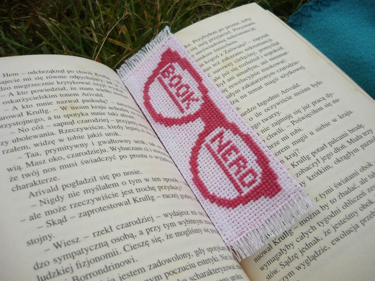 Cross stitch bookmark by MariAnnieArt on Etsy More