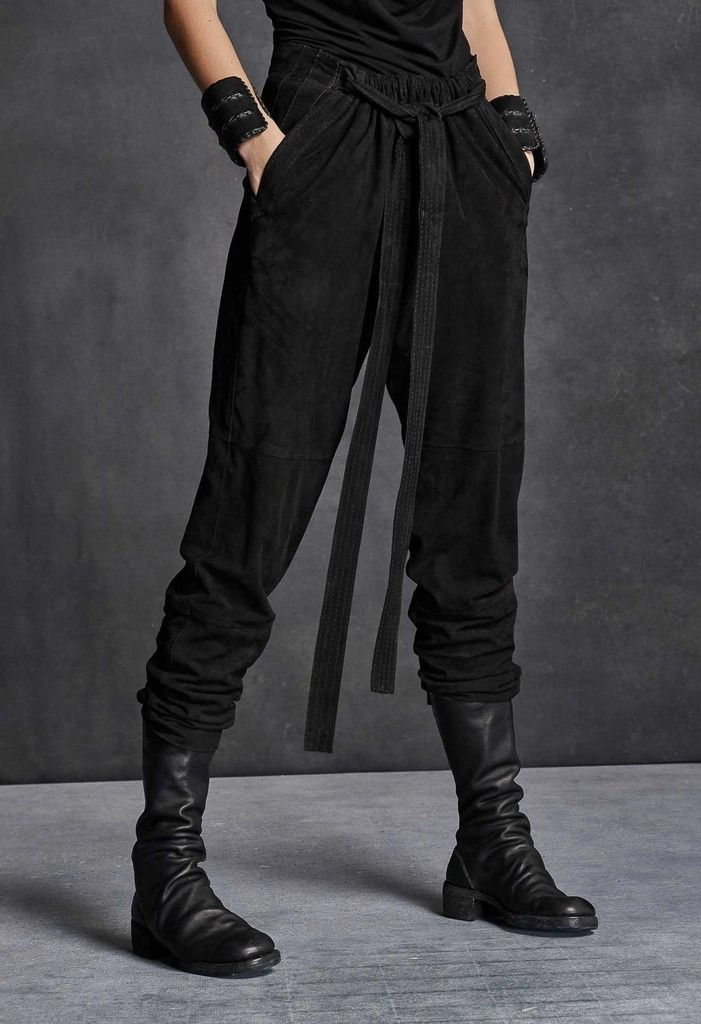 Butter-Soft Suede Karate Pant | Street Fashion