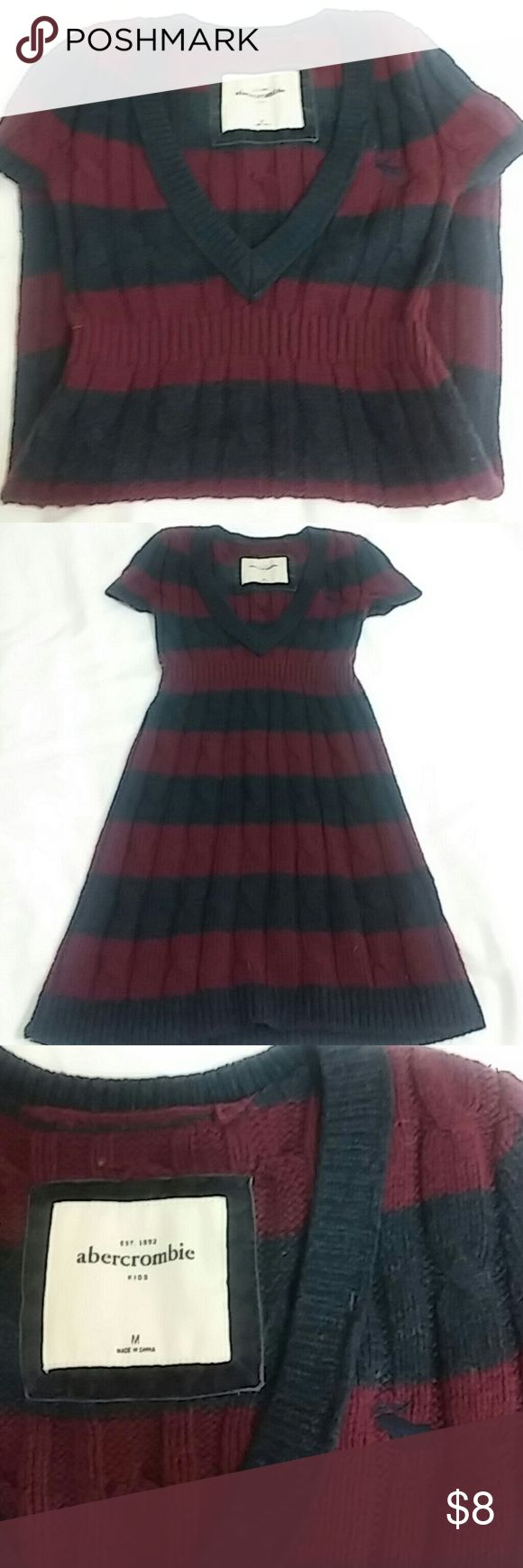 Abercrombie girls dress M good used condition Abercrombie girls sweater dress M. Used good condition Abercombie Kids Dresses Casual
