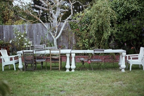 perfect setting for outdoor dining