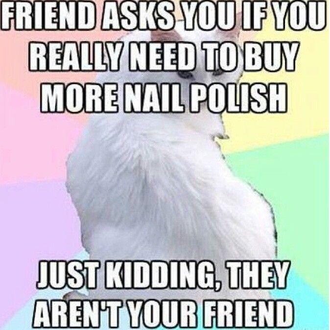 Nail Polish Meme Jokes