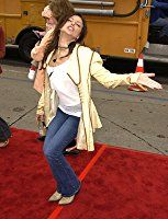 Kari Wuhrer at an event for Scooby-Doo (2002)