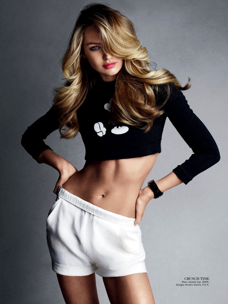 """""""Сладкая, как конфетка!"""" - именно такое название получила съемка Кэндис Свейнпол для июньского номера Vogue Australia. #brandintrend"""