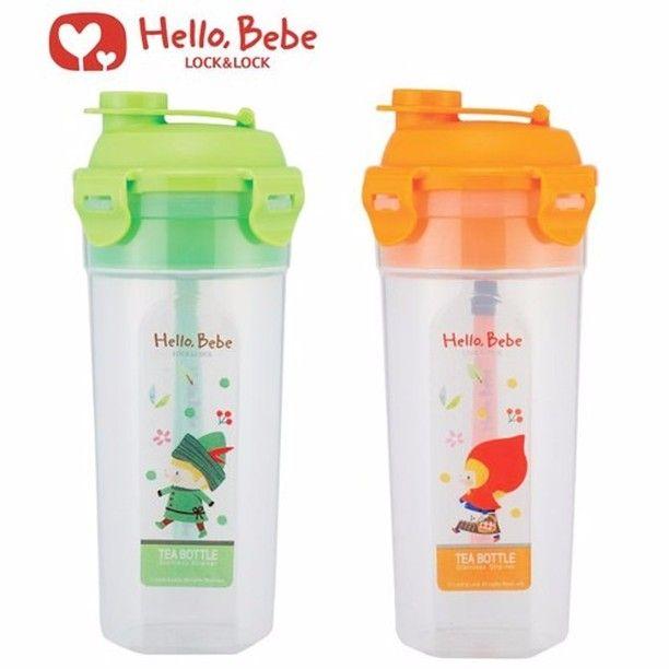 Nama Produk Lock N Lock Hello Bebe Tea Bottle Botol Air Minum
