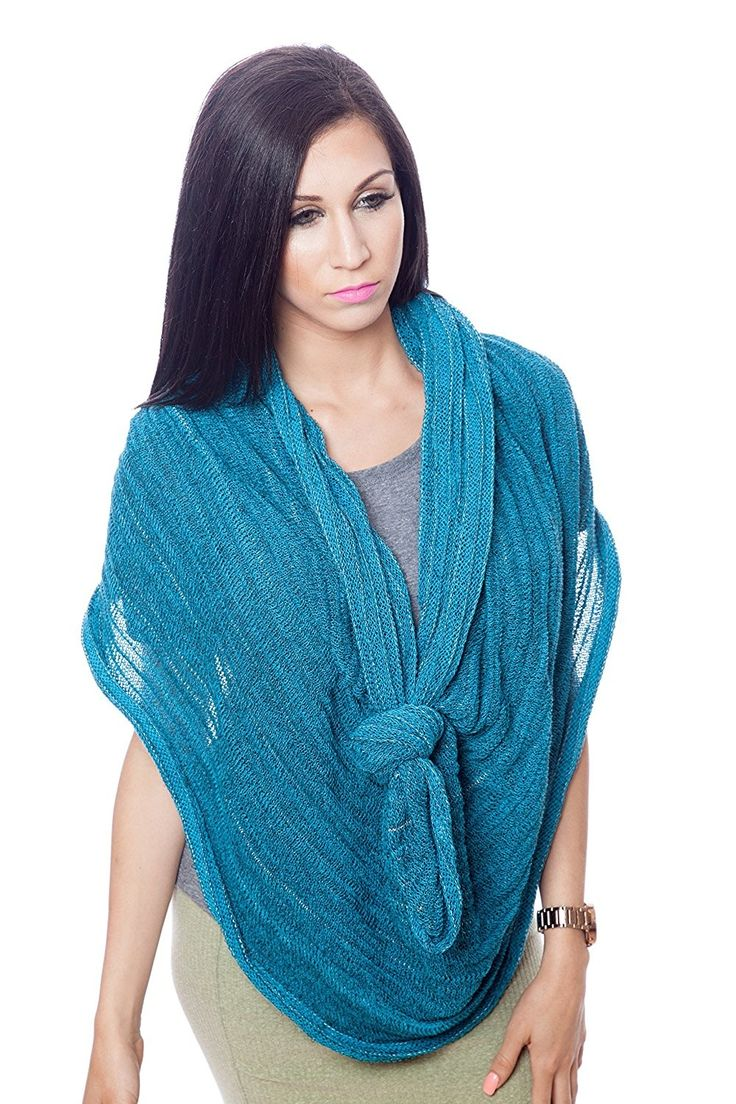 Womens 100 Cotton Super Soft Luxurious Infinity Scarf 100