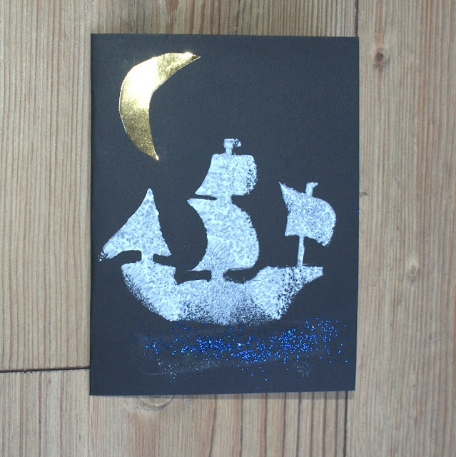 Pirate Party Invitations~ so cool! (I think I am going to use this idea for my daughter to make Captain Hooks Pirate Ship from Peter Pan)