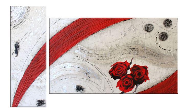 Quadri astratti la passione nel vento dipinti materici for Quadri materici astratti
